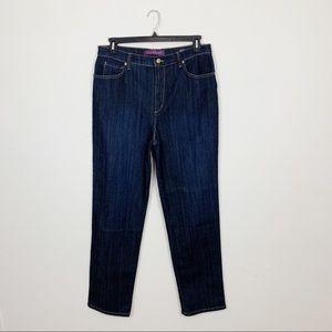 Gloria Vanderbilt Amanda Straight Leg Jeans Sz 16L